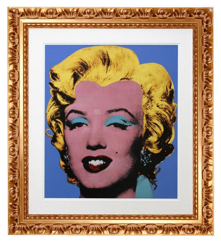 Andy Warhol, Shot Blue Marilyn