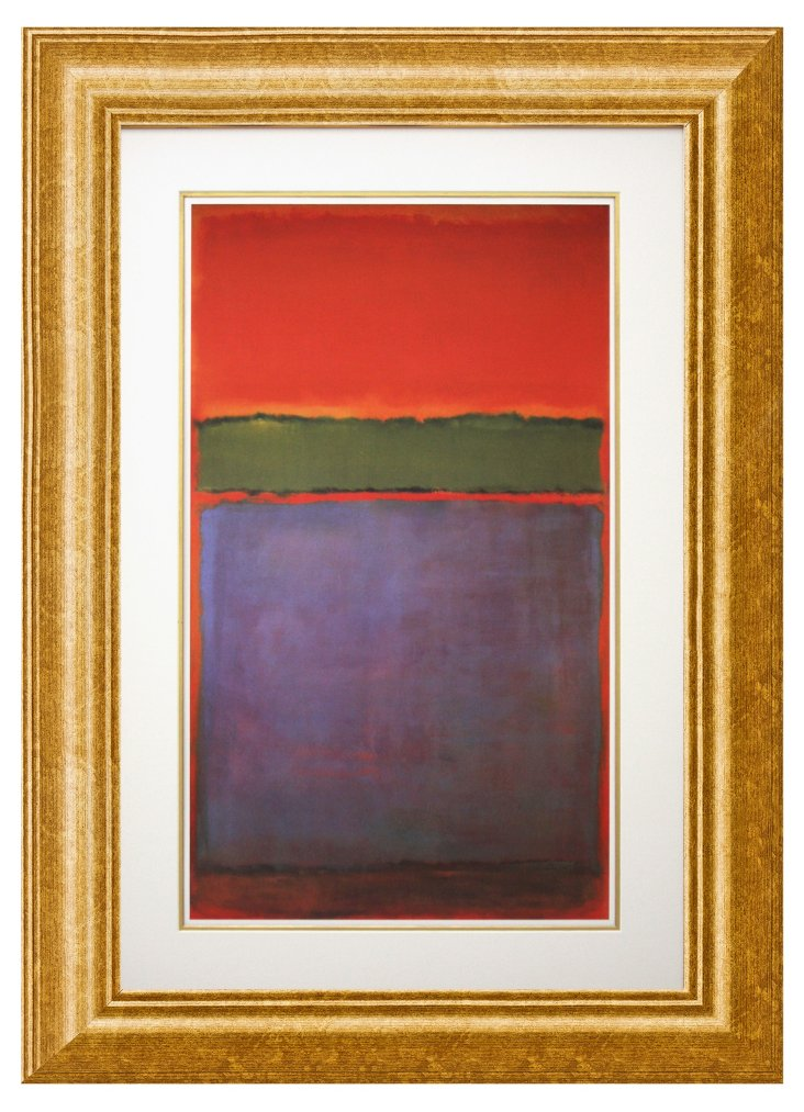 Rothko, No. 6 Violet, Green and Red
