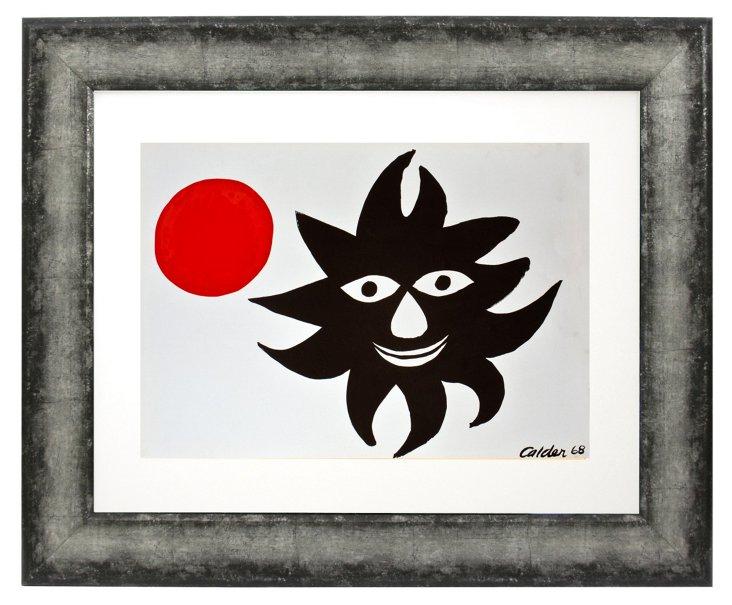 Alexander Calder, Red Sun, 1968