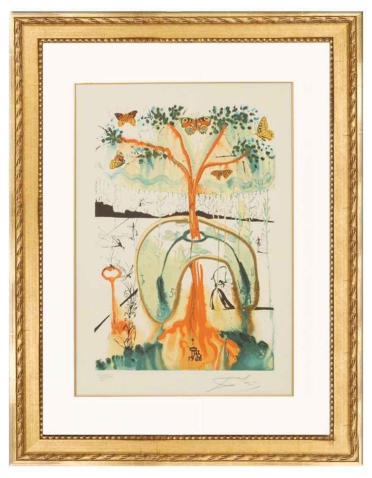 Salvador Dalí, A Mad Tea Party