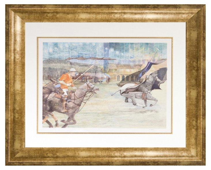 Vladimir Kranj, Polo game with Centaur