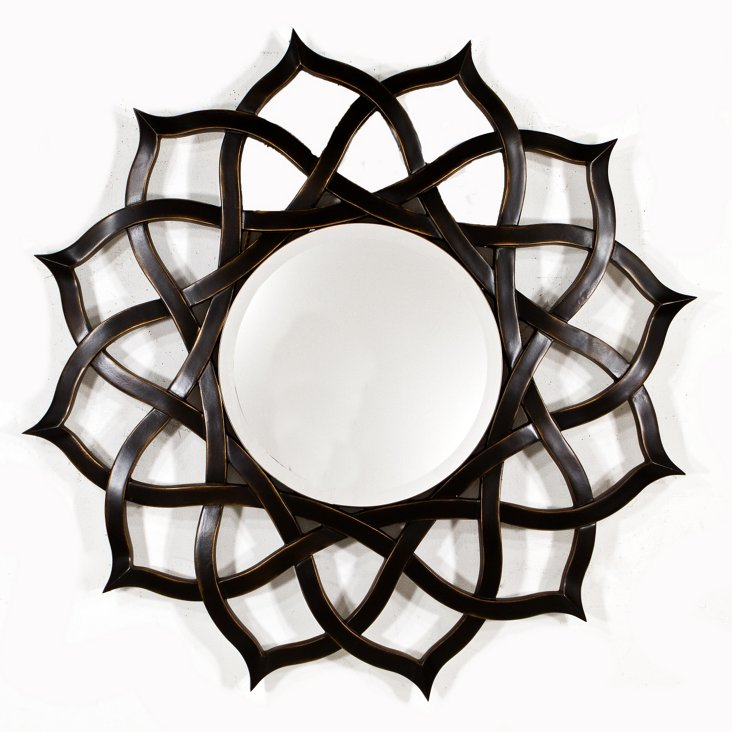Rose Mirror, Black