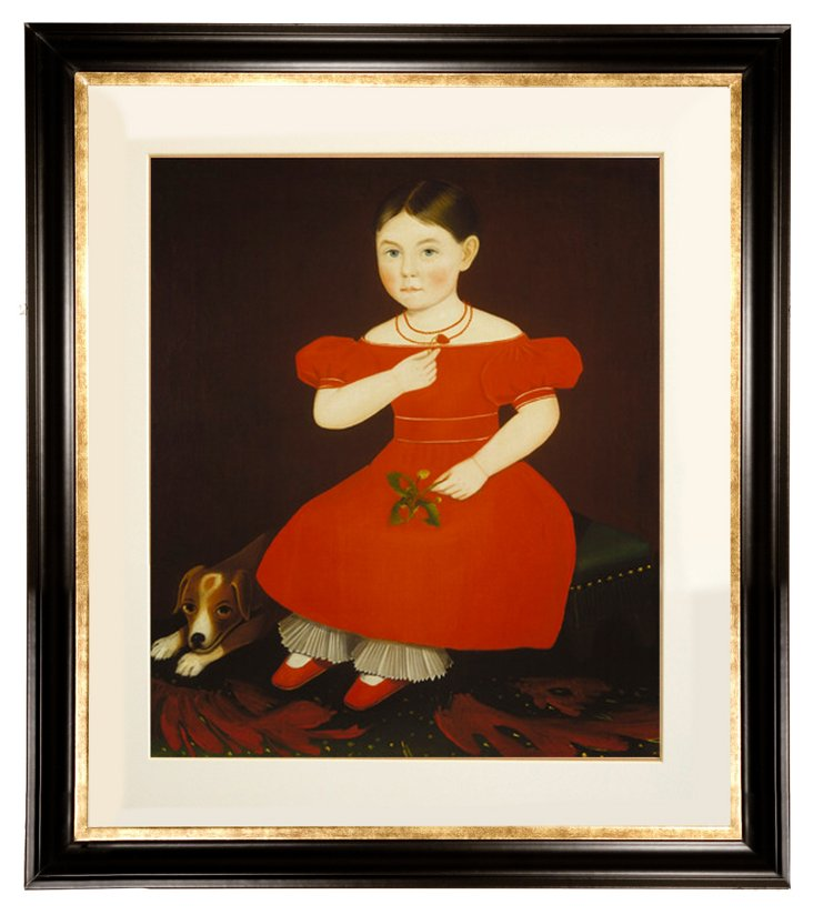 Ammi Phillips, Girl in a Red Dress