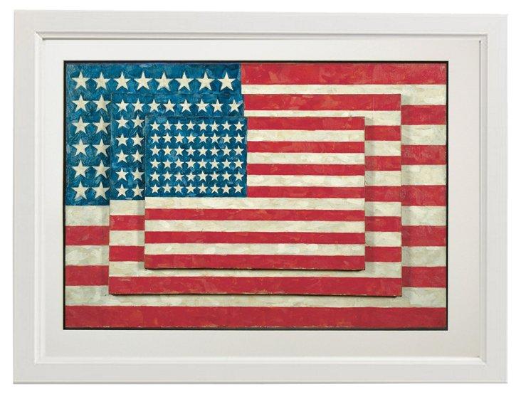 Jasper Johns, Three Flags