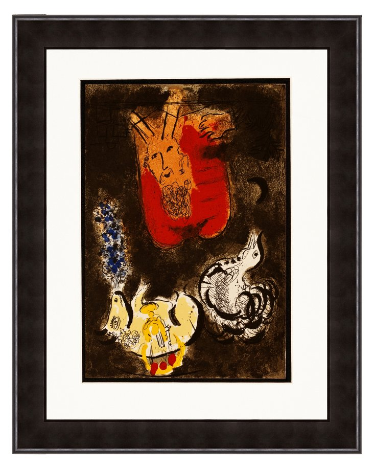 Chagall, Moses & Tablets of the Law DNU