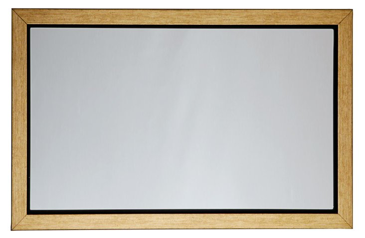 "Gold 15"" Inset Mirror"