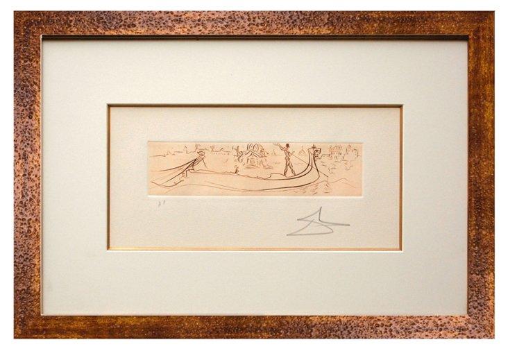 Salvador Dalí, Venice