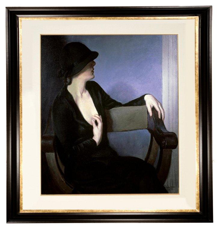 Bernhard Gutmann, Woman in Black