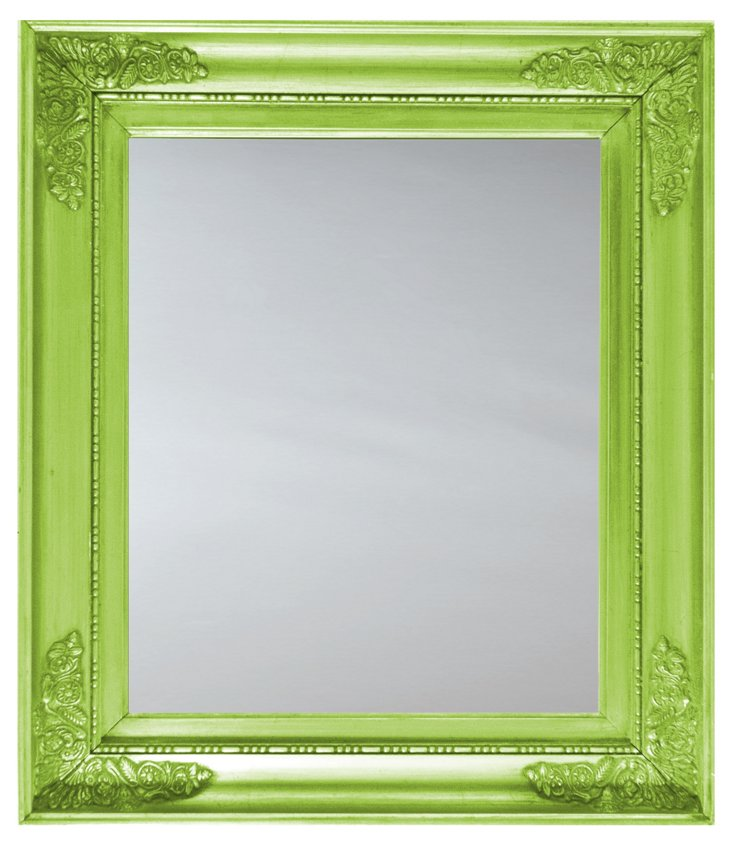 American Empire Mirror, Lime
