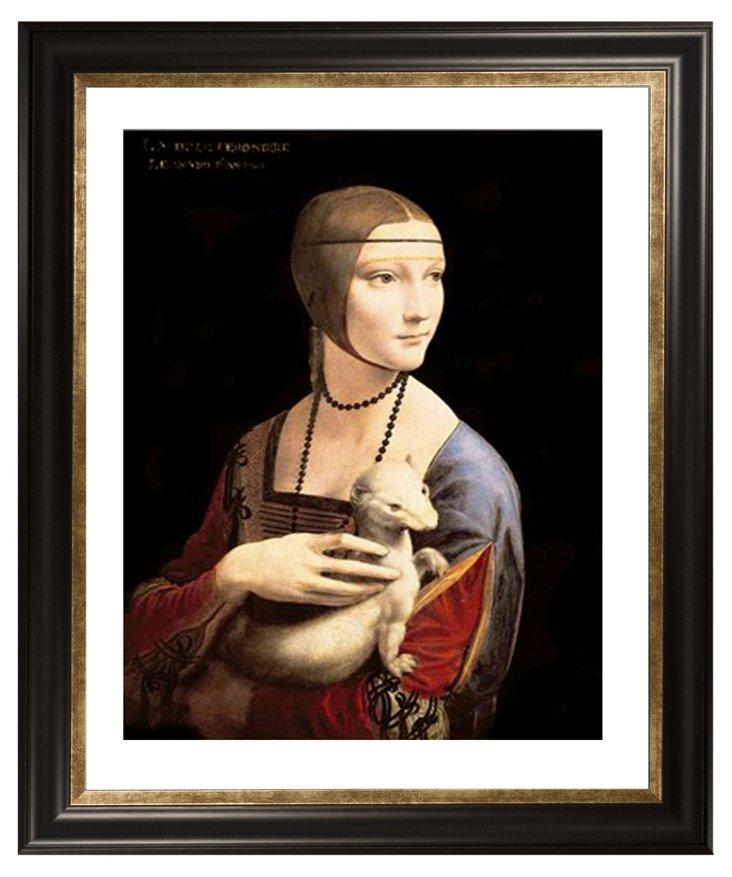 Leonardo da Vinci, Lady with Ermine