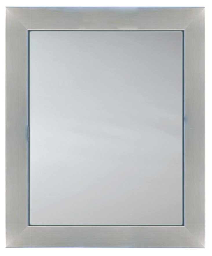 Stainless Sleek Mirror