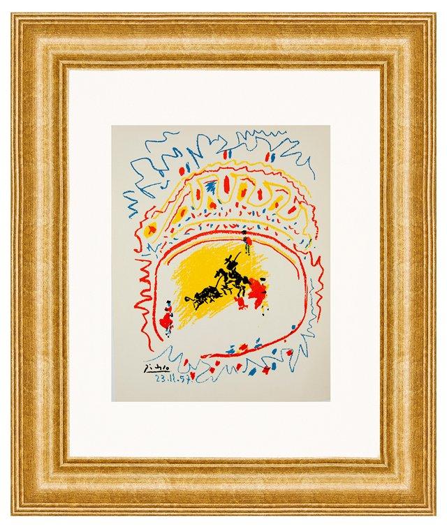 Picasso, La Corrida (The Bull Ring)