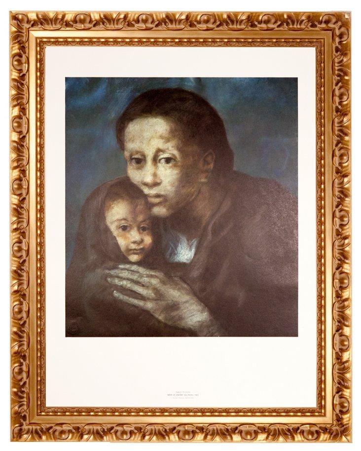 Picasso, Mère et Enfant au Fichu, 1903