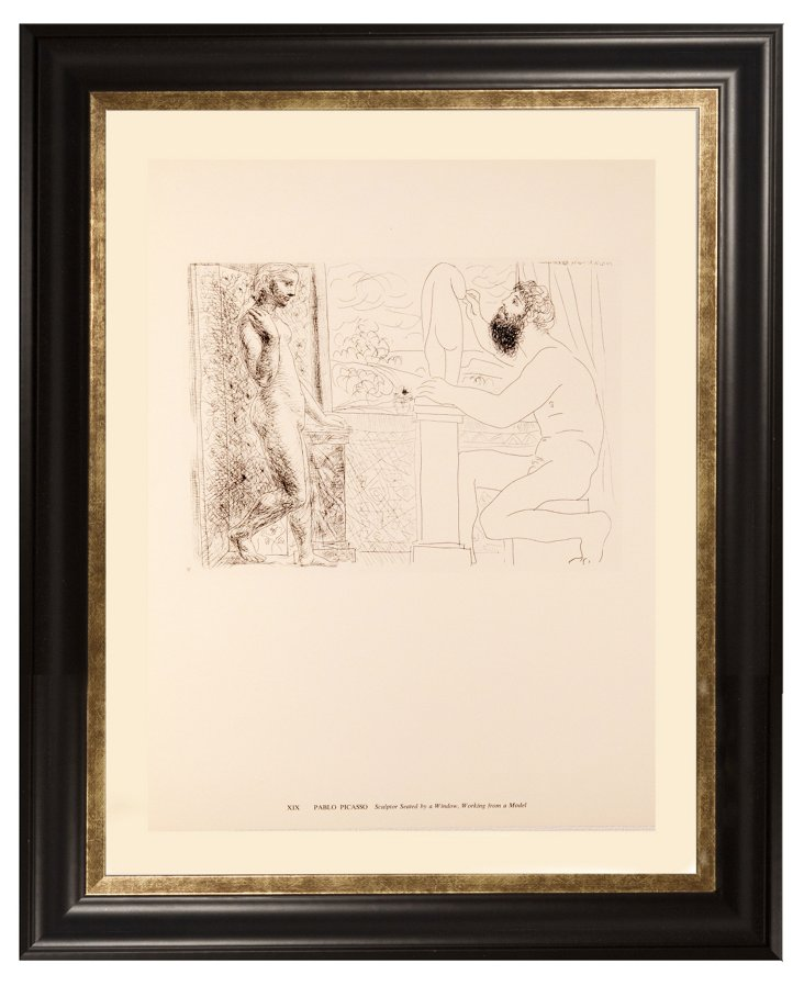 Picasso, Sculptor Seated by a Window