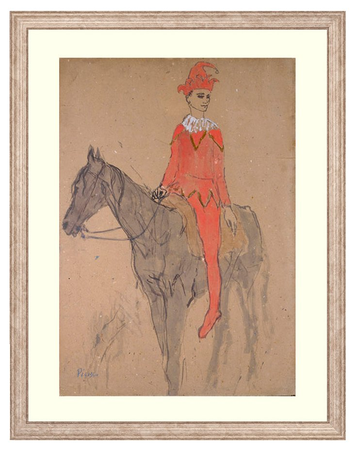 Picasso, Jester on a Horse
