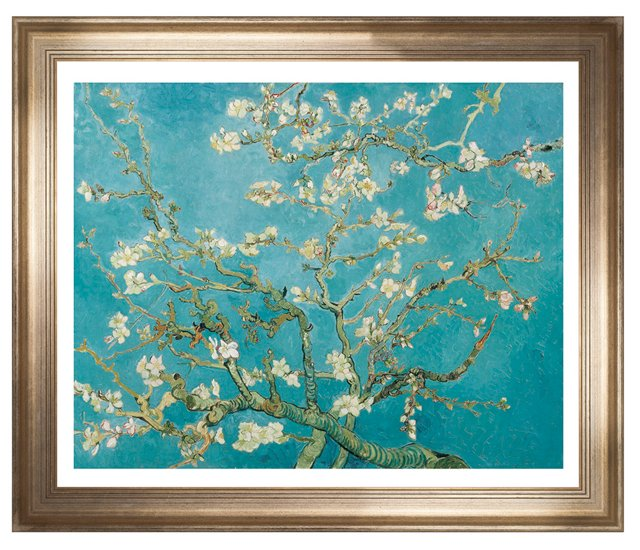 Van Gogh, Almond Branches in Bloom, 1890