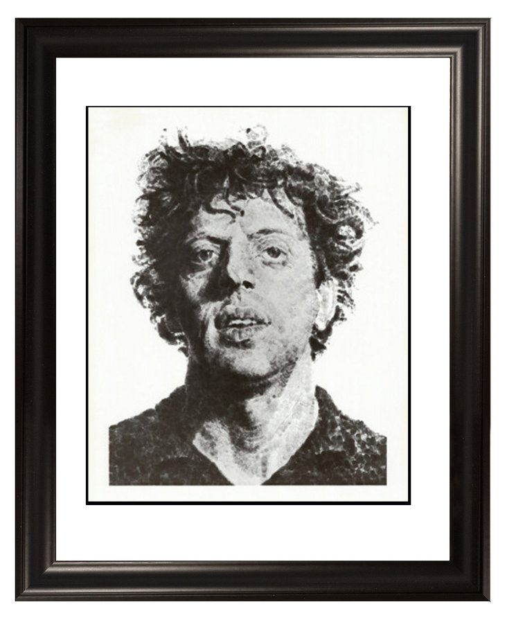 Close, Large Phil Fingerprint, 1979