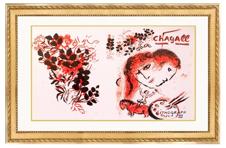Marc Chagall, Lithograph III