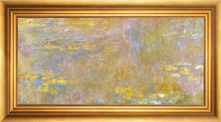 Monet, Water Lilies, 1920