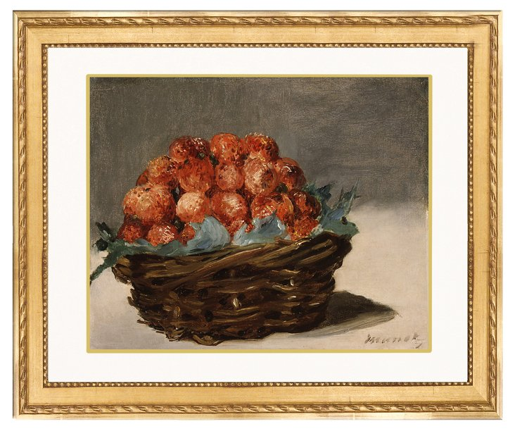 Manet, Still Life with Strawberries