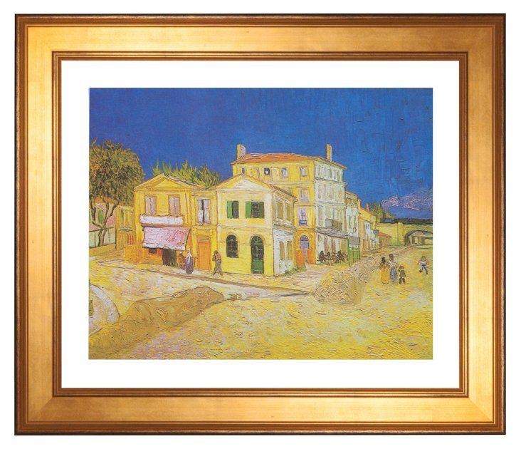 Van Gogh, The Yellow House
