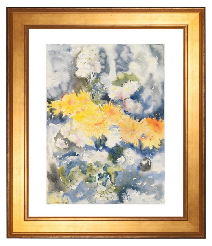 Charles Demuth, Yellow and Blue, 1915