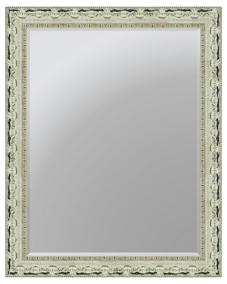 Elsa Wall Mirror, White
