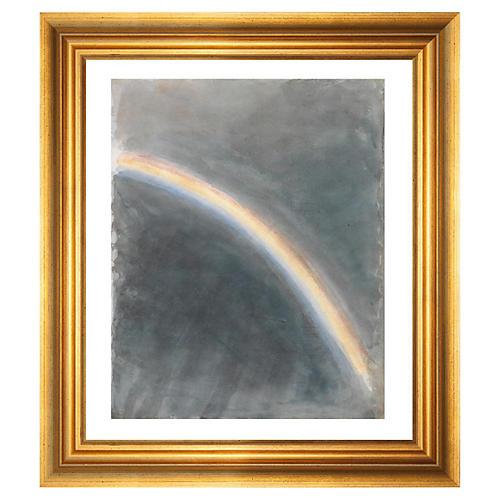 Constable, Sky Study with Rainbow