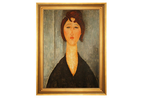 Modigliani, Portrait of a Young Woman