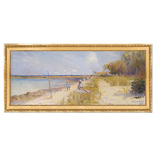 Charles Conder, Rickett's Point, 1890