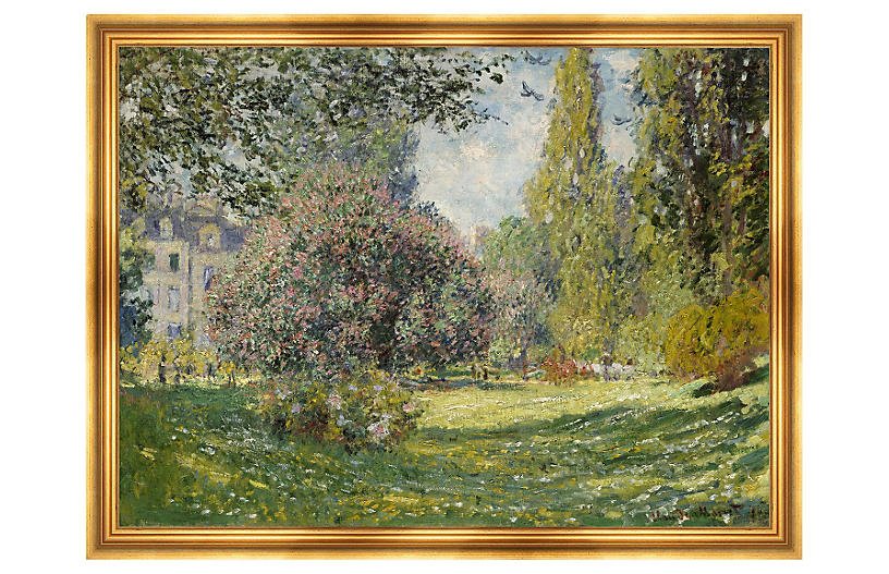 Monet, Landscape, The Parc Monceau