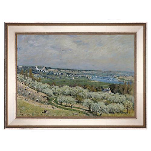 Sisley, The Terrace at Saint Germain