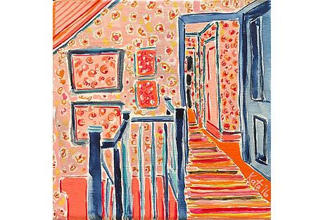Kate Lewis, Upstairs Hallway
