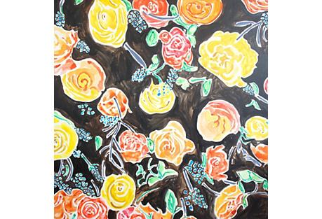 Kate Lewis, Yellow/Orange Spirit Flowers