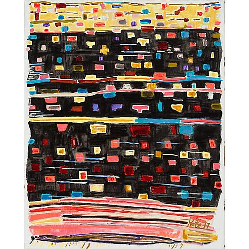 Kate Lewis, Gold, Black & Pink