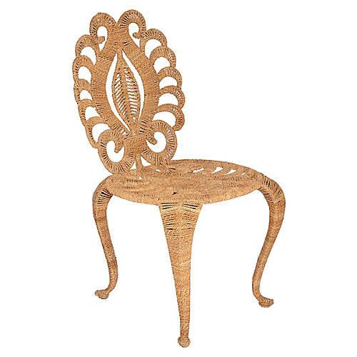 Tristan Side Chair, Ivory