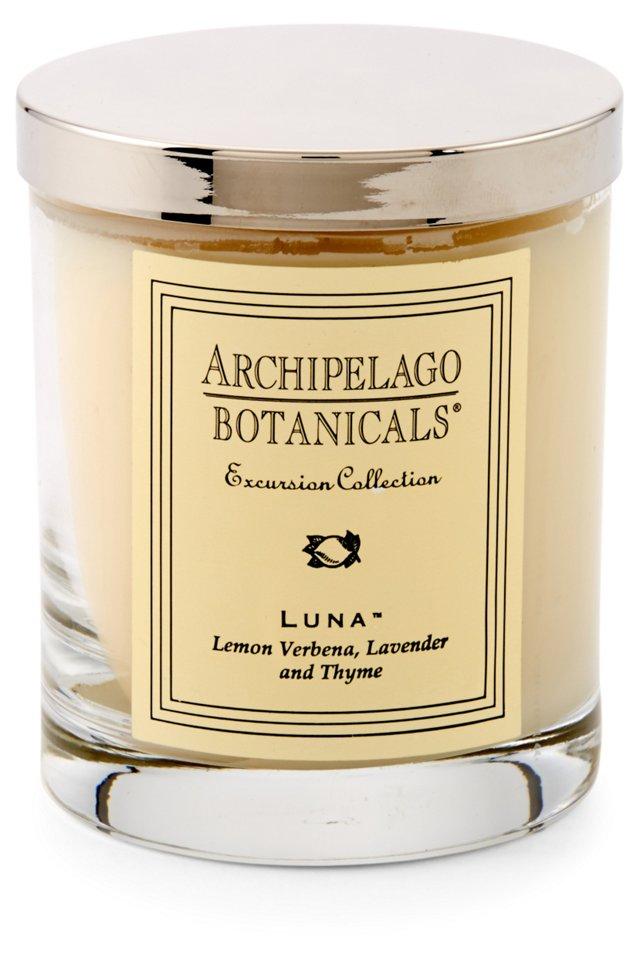 S/2 Luna Short Candles, Lemon