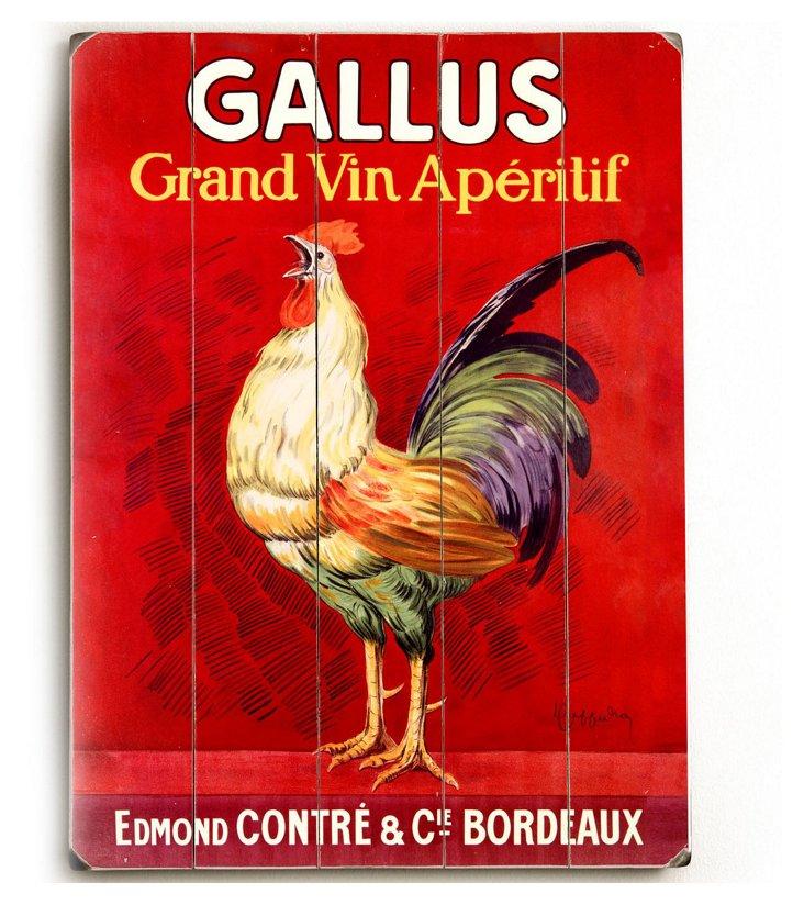 Gallus Wood Sign
