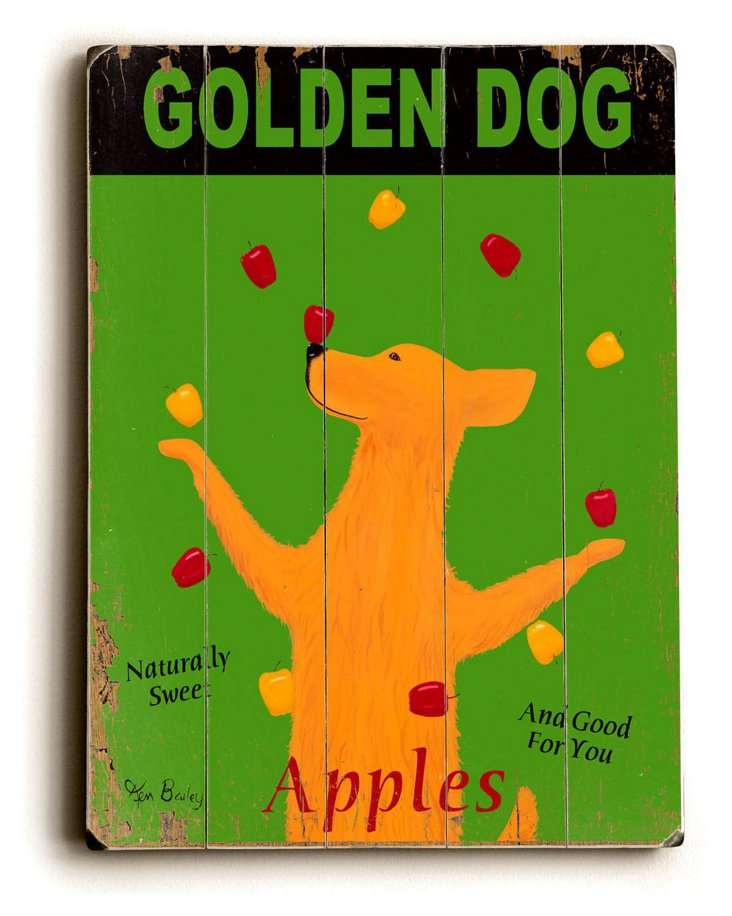 Golden Dog Apple