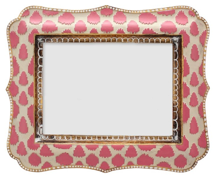 Oasis Frame, 5x7, Pink