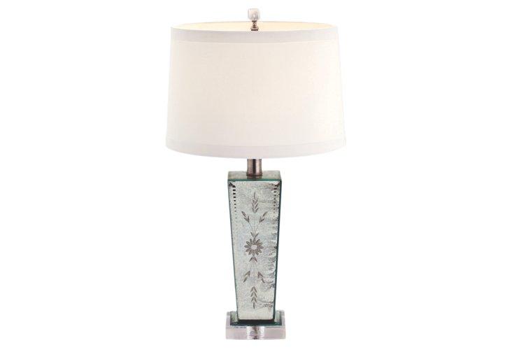 Bibury Etched Accent Lamp
