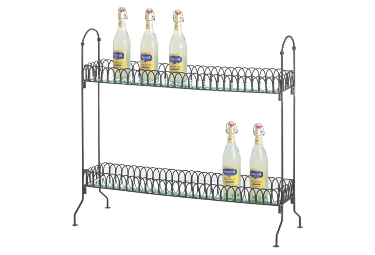 Sorley Two-Tier Shelf