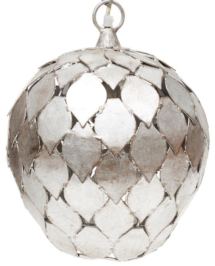 Silver-Leaf Pendant