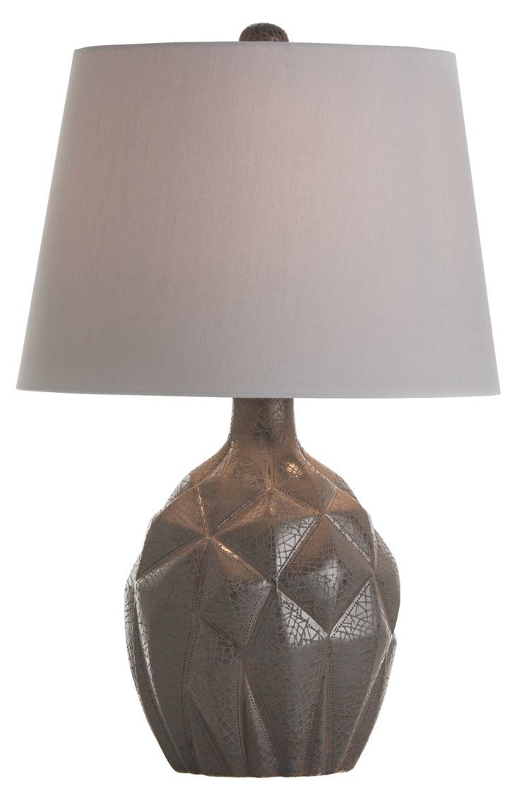 Ford Porcelain Lamp, Storm Gray