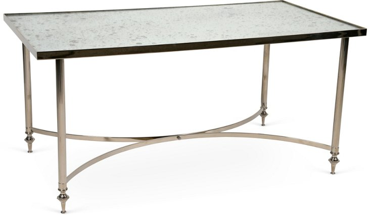 French Nickel-Plate Table