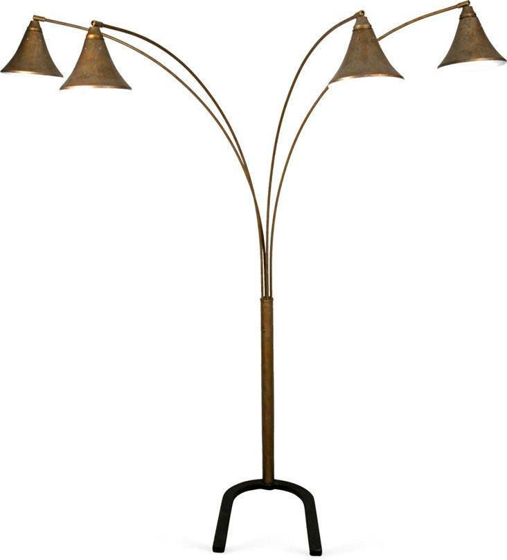 4-Pod Floor Lamp
