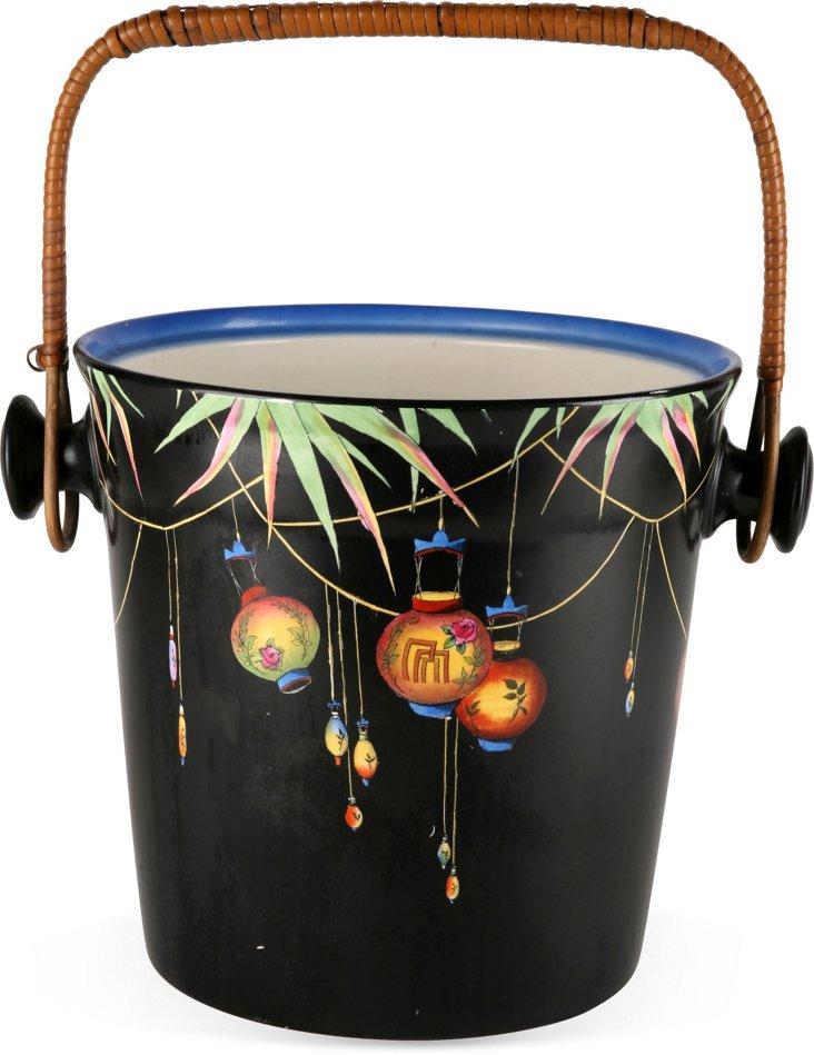 Chinese Festive Porcelain Bucket