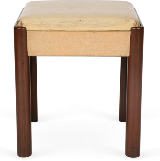 Vintage Wood Deco Seat