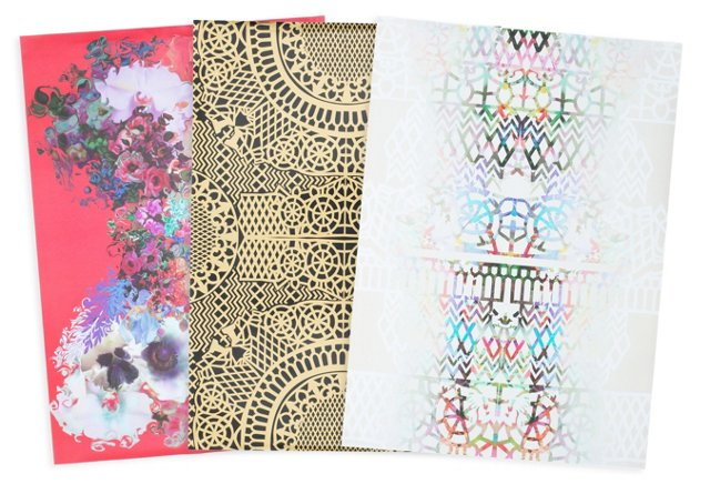 Cynthia Rowley Gift Wrap, 15 sheets