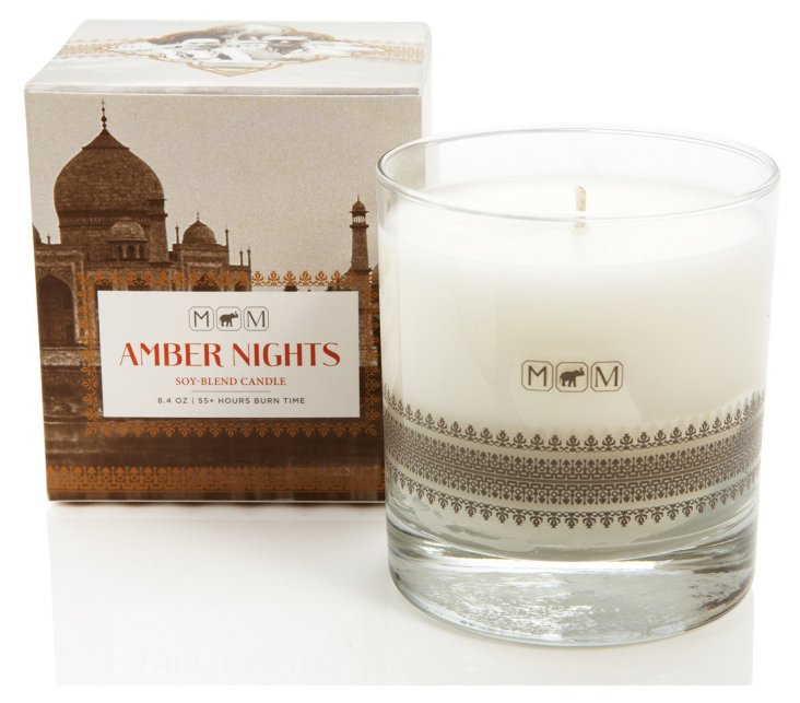 India Spice Candle, Amber Nights